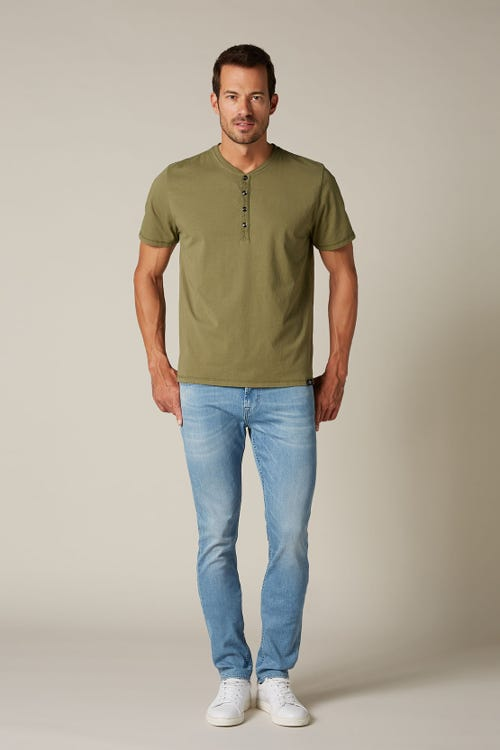 7 For All Mankind - Ronnie Luxe Performance Light Blue