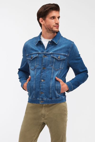 PERFECT JACKET LUXE PERFORMANCE MID BLUE