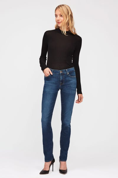 7 For All Mankind - Mid Rise Roxanne B(Air) Duchess