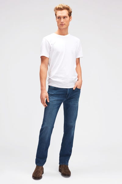 7 For All Mankind - Standard Luxe Performance Plus Mid Blue