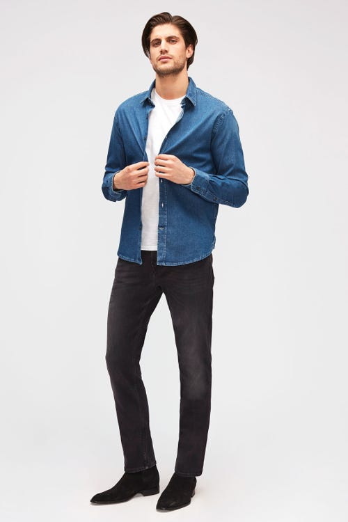 7 For all Mankind - Slimmy Luxe Performance Plus Washed Black