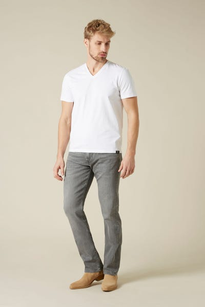 7 For All Mankind - Slimmy Luxe Performance Light Grey