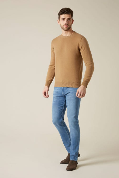 7 For All Mankind - Slimmy Tapered Luxe Performance Plus Light Blue