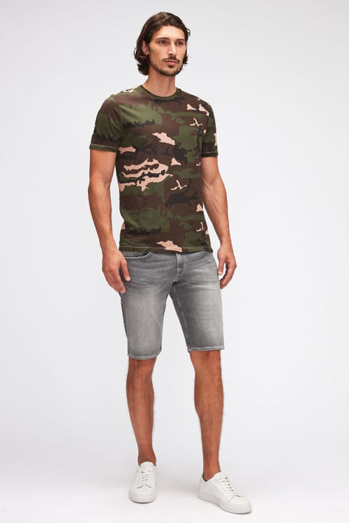 REGULAR SHORTS HEMET MID GREY