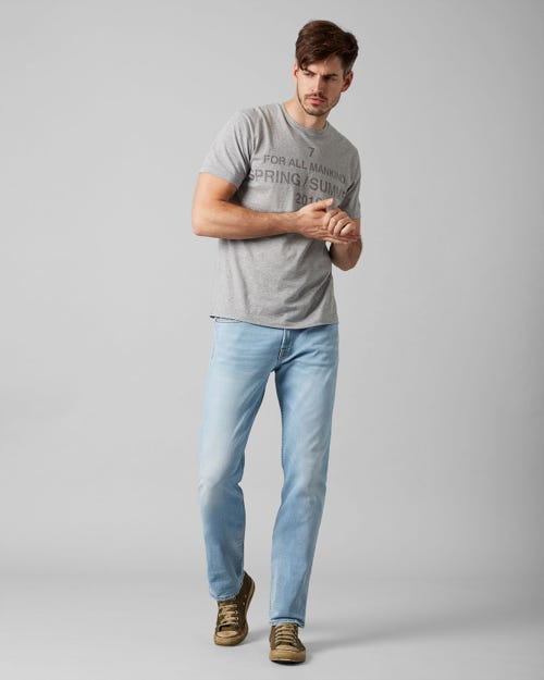 7 For All Mankind - Slimmy Broadway Light Blue
