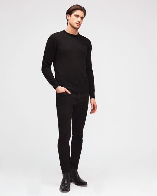 7 For All Mankind - Ronnie Tapered Luxe Performance Plus Black