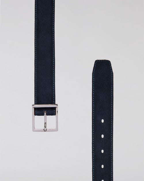 7 For All Mankind - Classic Belt Washed Suede
