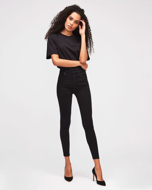 7 For All Mankind - Aubrey Slim Illusion Luxe Gravity