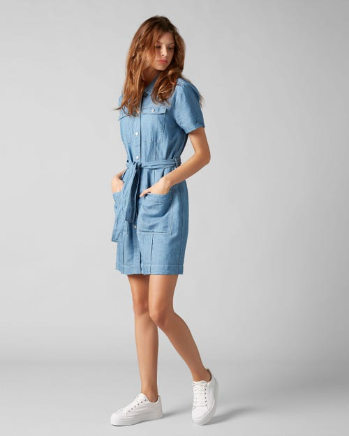 7 for all Mankind - DRESS S/S BAYSIDE