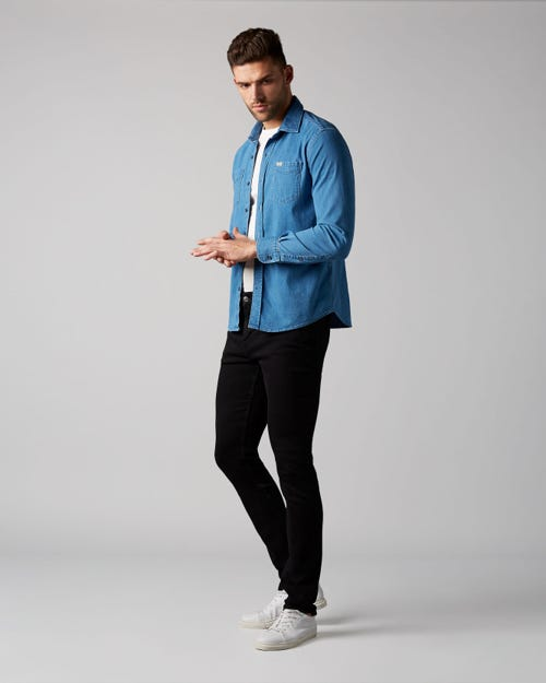7 For All Mankind - Ronnie Comfort Luxe Snook