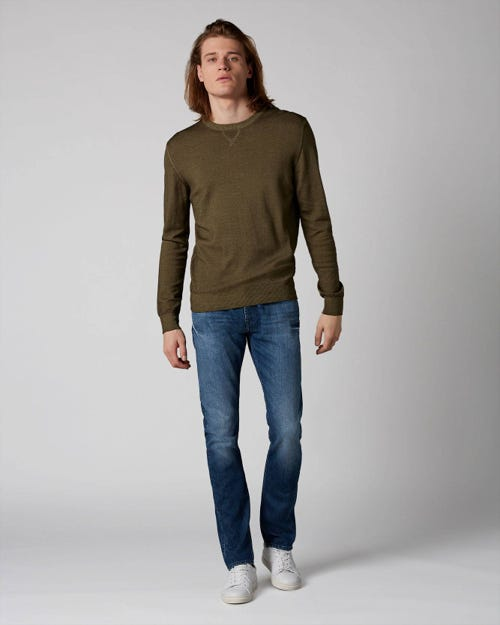 7 For All Mankind - Ronnie Blunch Dark Blue