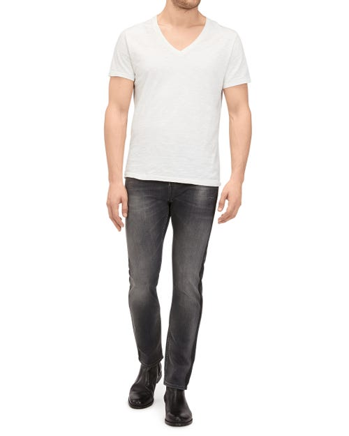7 For All Mankind - Ronnie 30'' Poisoning Grey