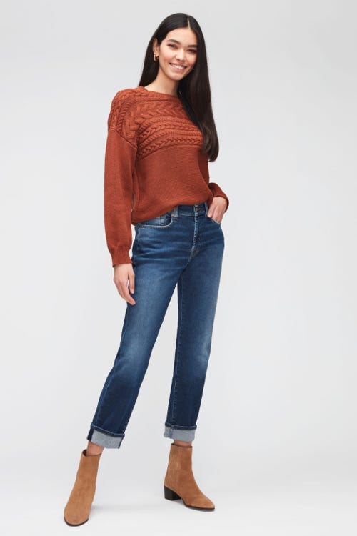 RELAXED SKINNY SLIM ILLUSION ECO ABOVE