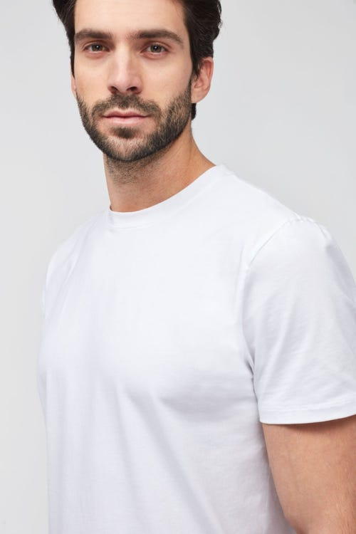 T-SHIRT LUXE PERFORMANCE WHITE