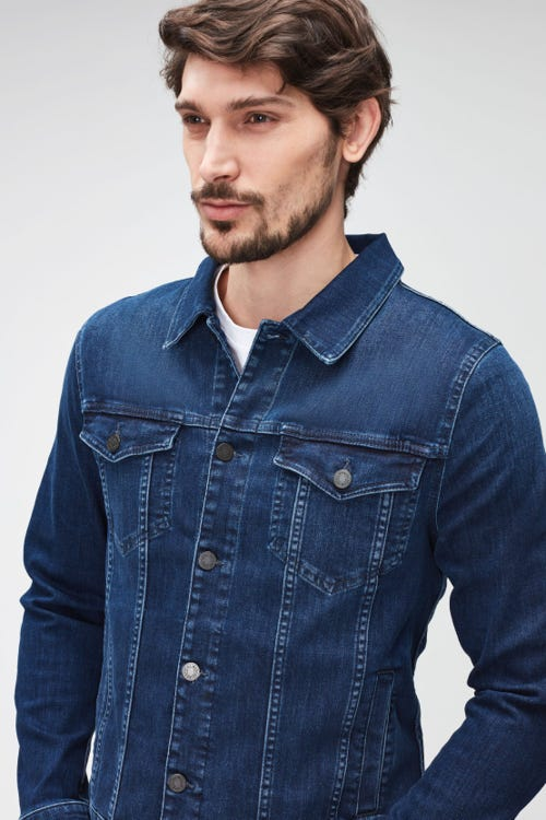 PERFECT JACKET LUXE PERFORMANCE ECO DARK BLUE
