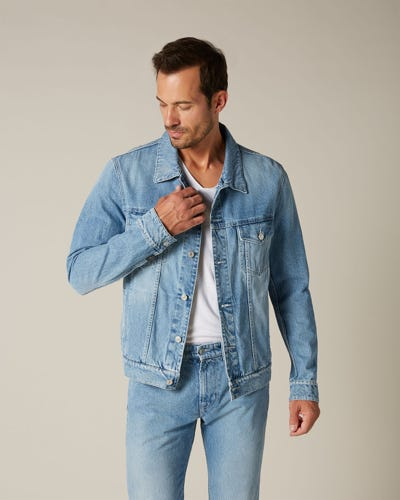 PERFECT JACKET WHISKERLESS LIGHT BLUE