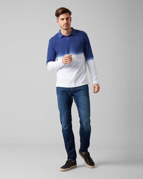 7 for all Mankind - LARRY LEFT HAND COTILLO DARK BLUE
