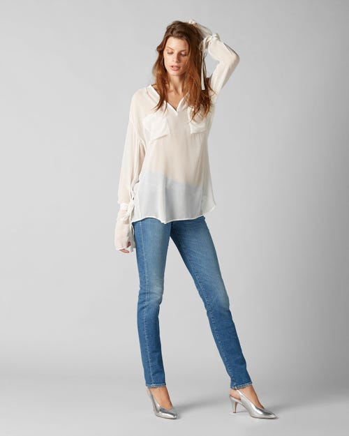 7 For All Mankind - Mid Rise Roxanne Vintage Robertson