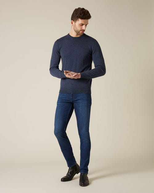 7 For All Mankind - Ronnie Xl Luxe Performance Indigo Blue