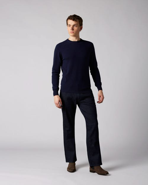 7 For All Mankind - Standard Cashmere Denim Rinse Blue