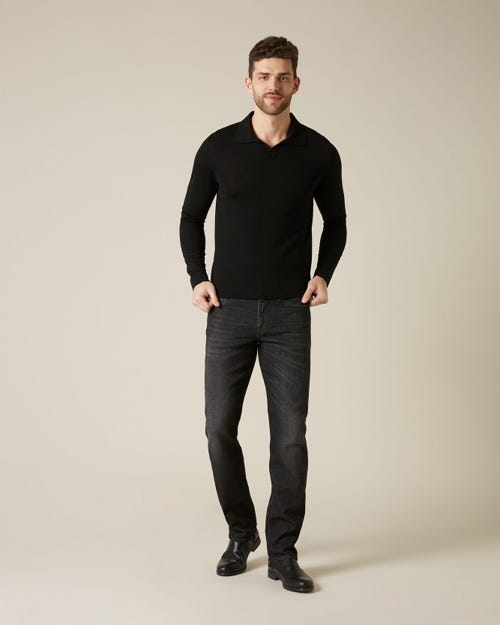 7 For All Mankind - Slimmy Cashmere Denim Washed Black