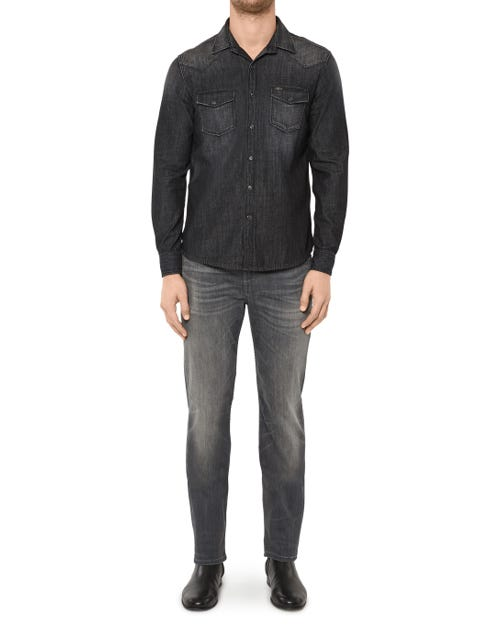 7 For All Mankind - Slimmy Luxe Performance Vintage Grey