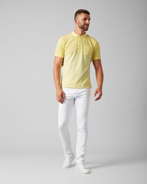 7 For All Mankind - Kayden Luxe Performance White