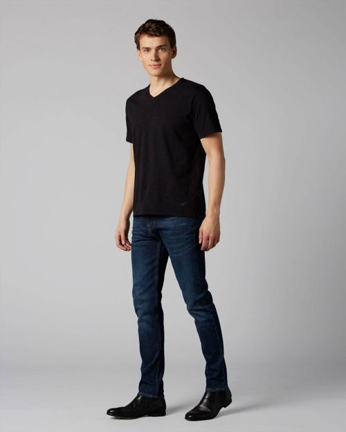 7 For All Mankind - Slimmy Tapered Plucky Dark Blue