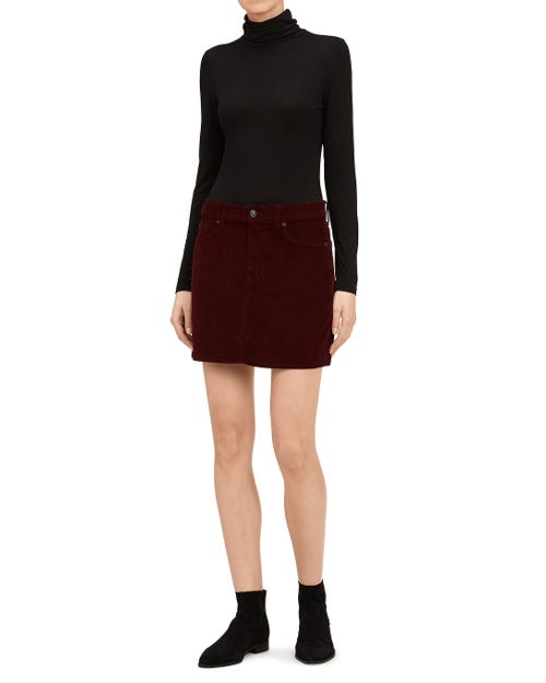 SKIRT CORDUROY RUBY