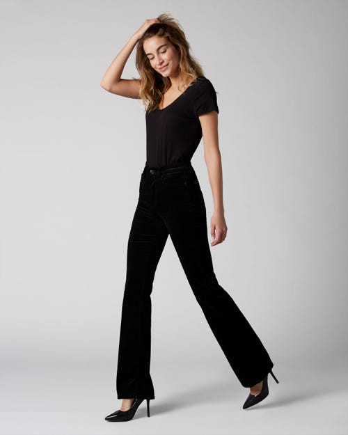 7 For All Mankind - Lisha Velvet Black
