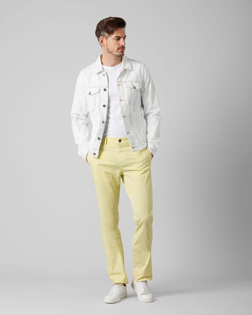 7 For All Mankind - Slimmy Chino Ultra Light Weight Colors Sun Shower