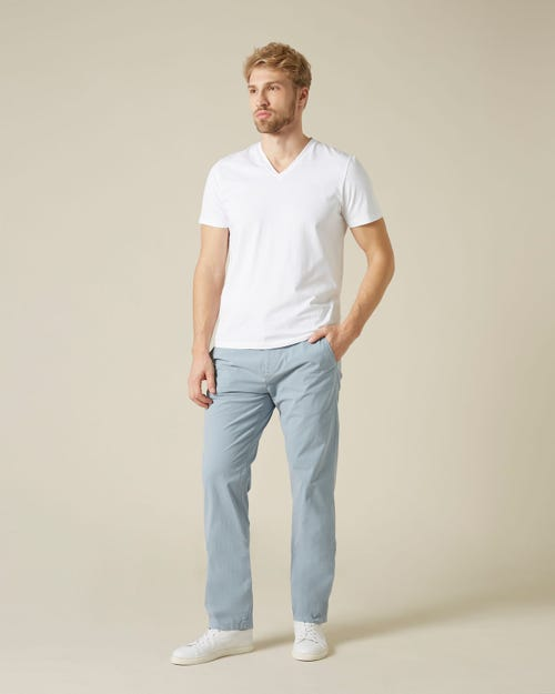 SLIMMY CHINO WEIGHTLESS COLORS LIGHT BLUE
