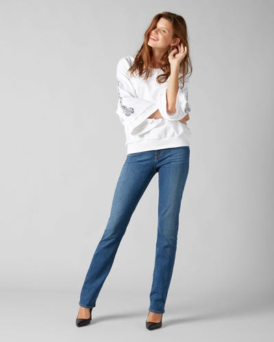 7 For All Mankind - Kimmie Straight B(Air) Capitola