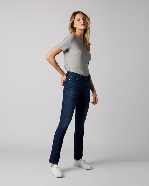 7 For All Mankind - Kimmie Straight Slim Evolution Rhythm