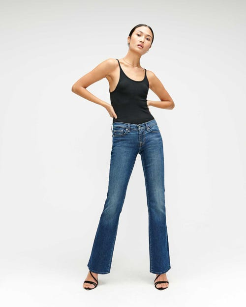 7 For all Mankind - The Original Bootcut Ny Dark