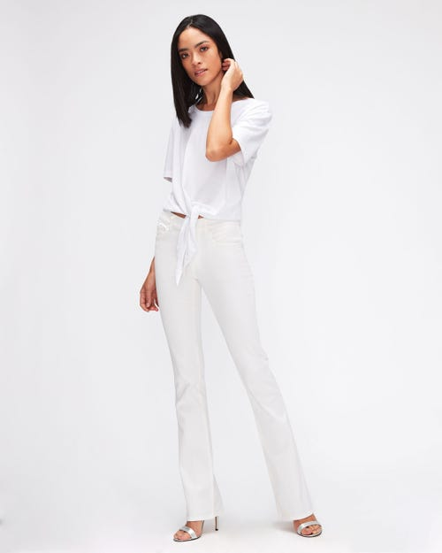 BOOTCUT LEFT HAND PURE WHITE