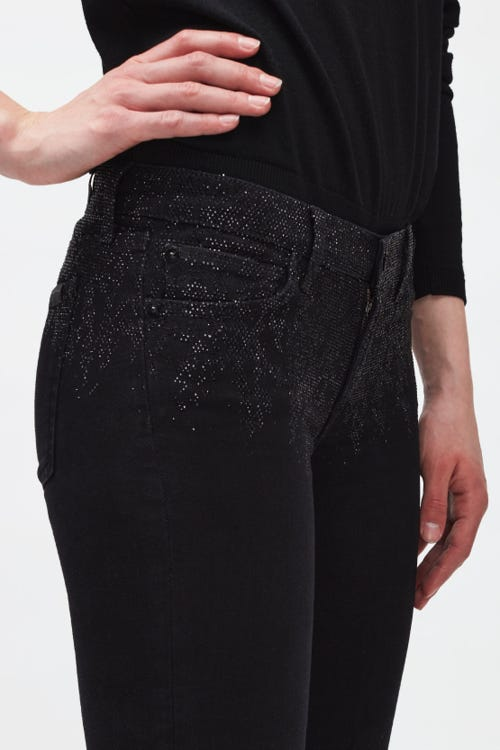 THE SKINNY SLIM ILLUSION GALAXY WITH FADING CRYSTAL TOP