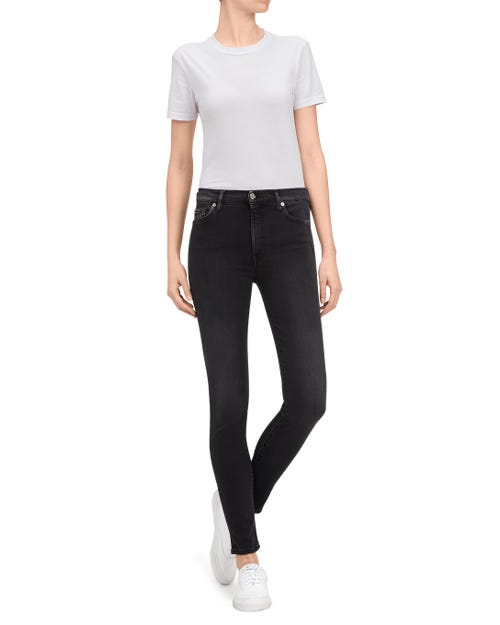 HIGH WAIST SKINNY SLIM ILLUSION LUXE REBEL