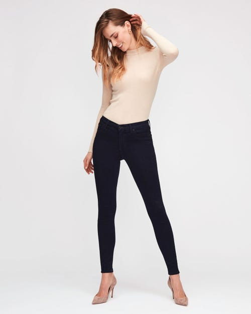 HIGH WAIST SKINNY SLIM ILLUSION LUXE CERTAINTY