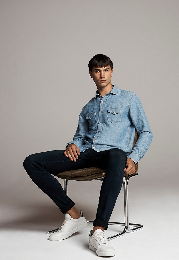 7 for all mankind FW18 denim lookbook