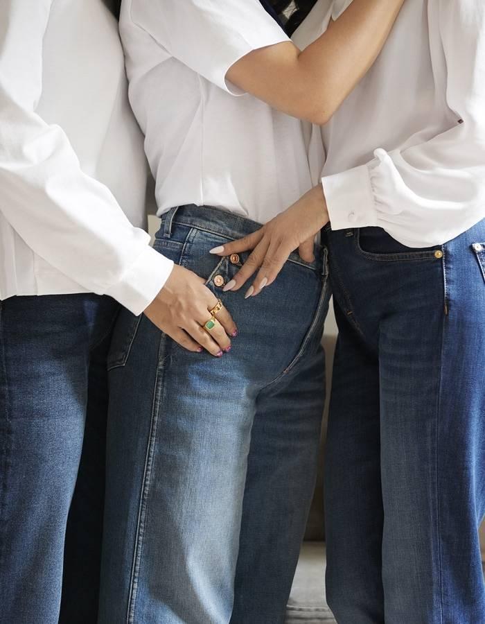 7 For all Mankind - Jeans, Spijkerjassen en Kleding, Uitlopende Broek met hoge taille, Skinny jeans met hoge taille, Skinny jeans met middelhoge taille, Slim Jeans met middelhoge taille, Straight Jeans met middelhoge taille, Bootcut Jeans met middelhoge